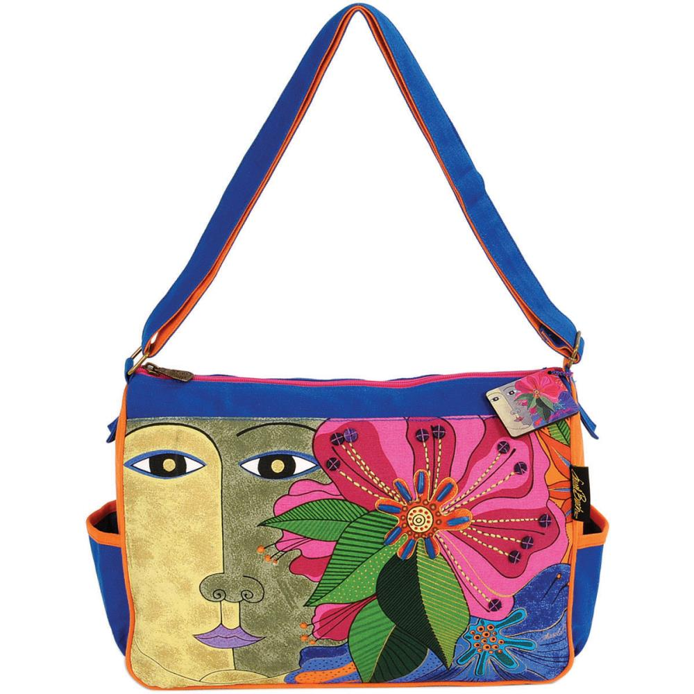 click here to view larger image of Blossoming Spirit - Medium Tote Zipper Top (accessory)