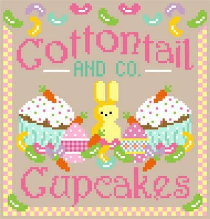 Cottontail and Co Cupcakes - click here for more details about chart